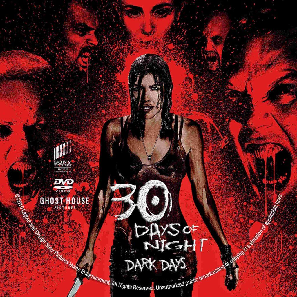 30 Days Of Night Dark Days Scary Movies Comic Books Sony Pictures