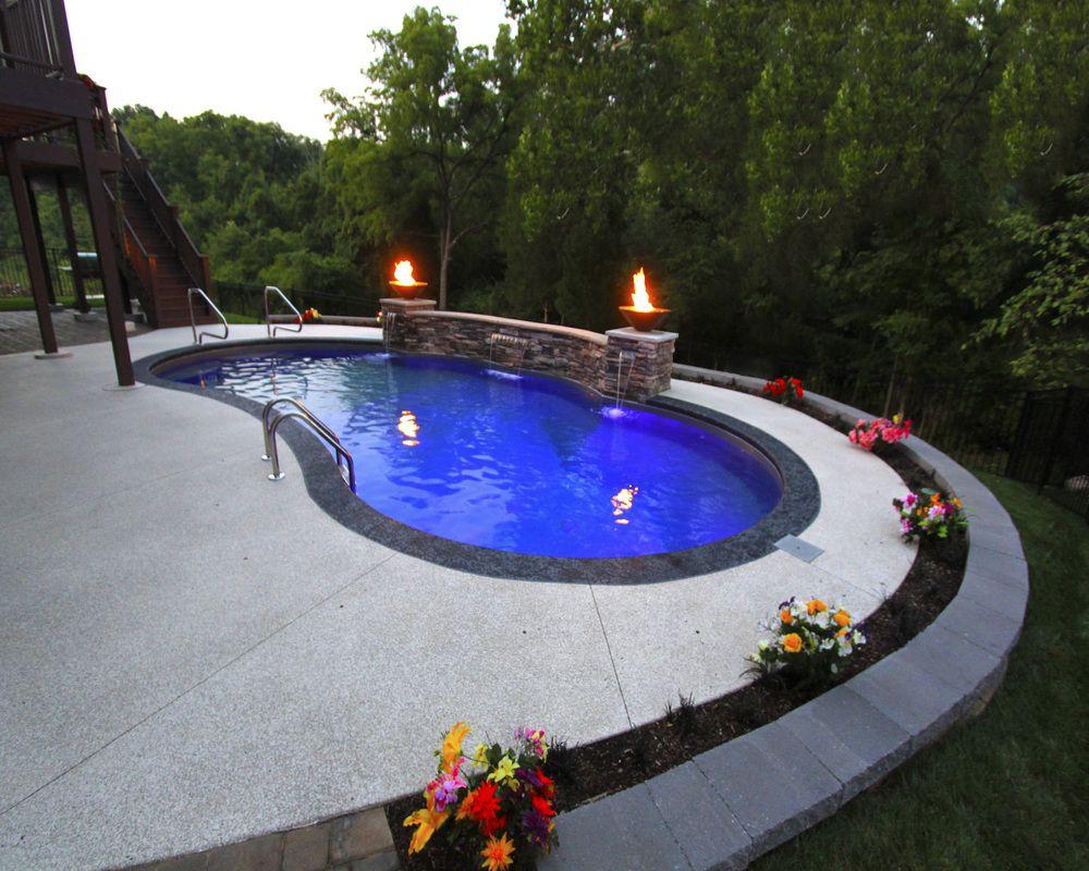 in ground pools vinyl liner in ground pool dealer st louis mo