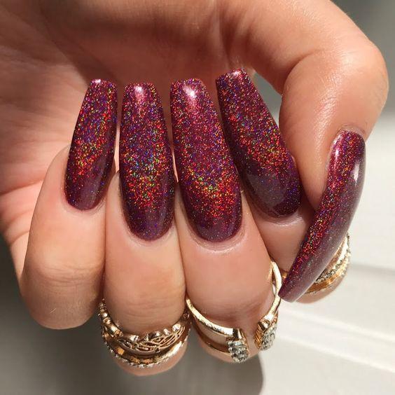 60 Cute Coffin Nails Colors Designs