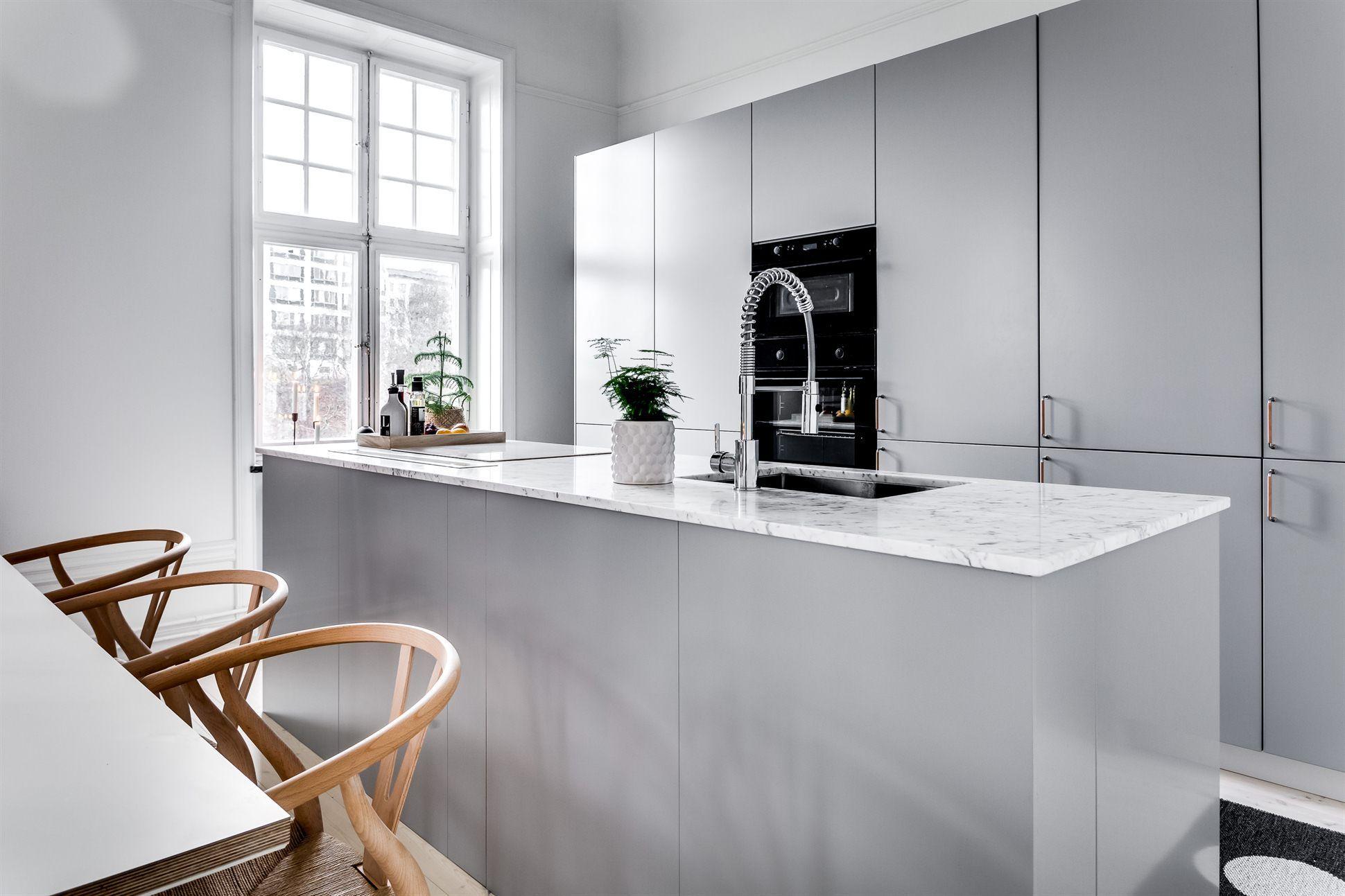 Scandinavisch modern interieur