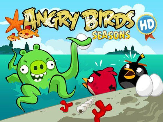 angry birds seasons hd iphone ipad jeu gratuit de la semaine maxiapplecom - Angry Birds Gratuit