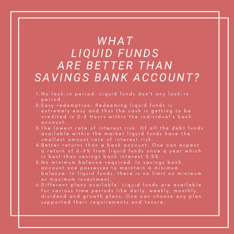 Why Liquid Funds Mutual Funds Are Better Than Banks Saving