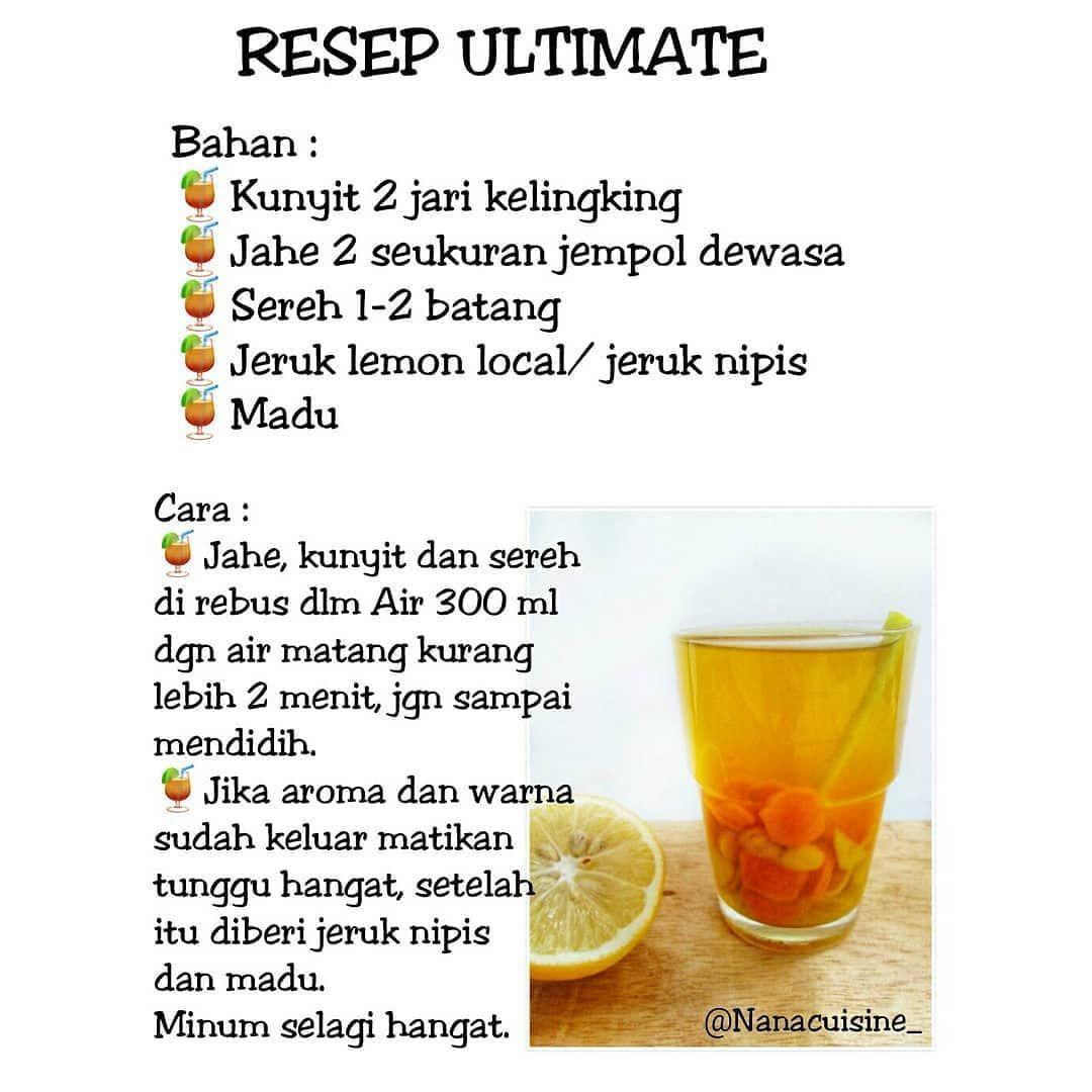 3 Resep Ultimate By Nanacuisine Bahan Minuman Detoks Obat Alami Diet Detoks