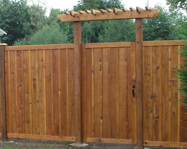 privacy fence gate trellis google search
