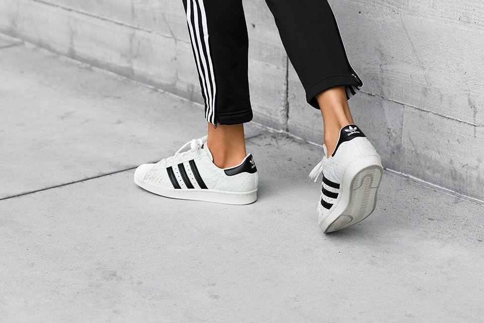 Adidas Originals Superstar 80s Gets A Snakeskin Makeover Missbish Women S Fashion Fitness Lifestyle Magazine Adidas Superstar Adidas Women Adidas Originals Superstar