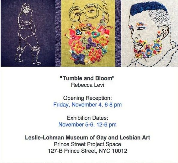 Showtime! Tumble and Bloom NYC Nov 4th!