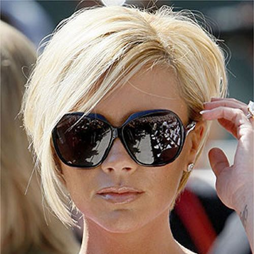 beckham hair style big sunglasses look great on small faces like mine 6644