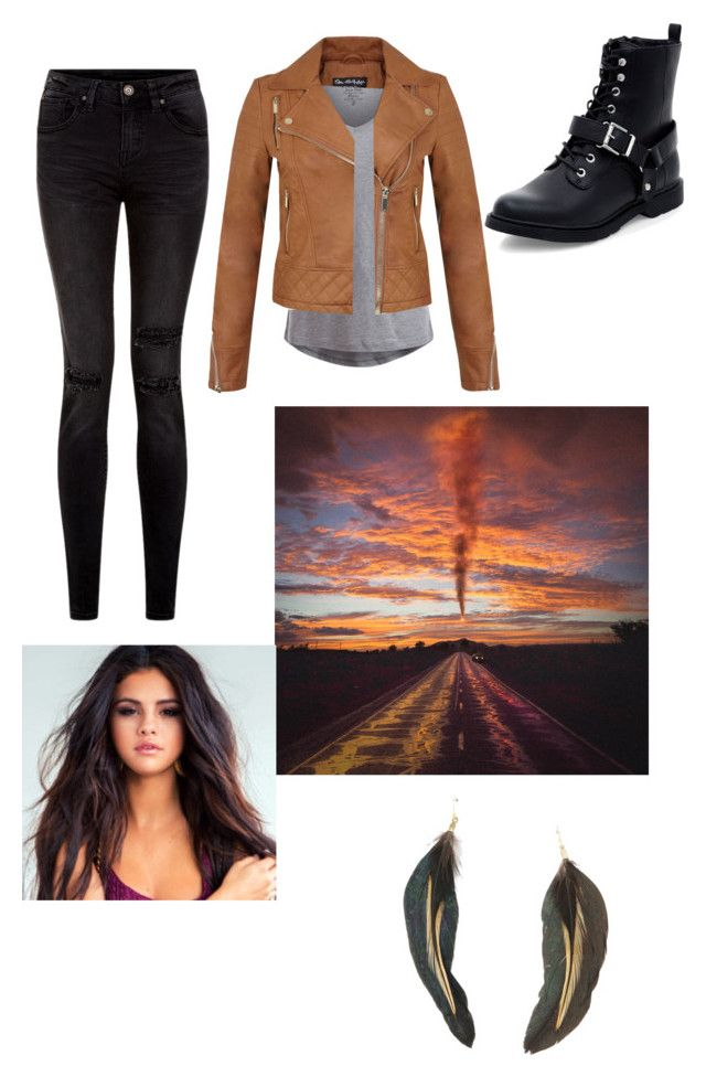 """""""Fall Outfit 86$"""" by under100outfits ❤ liked on Polyvore featuring Pieces, Miss Selfridge, MANGO, women's clothing, women, female, woman, misses and juniors"""