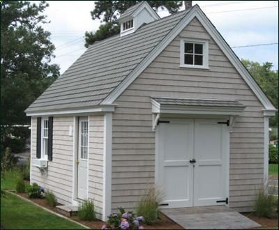 14 X 20 Boathouse This Handsome Structure Has A Custom Cupola Open