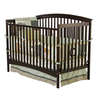 Dream On Me Eden Convertible Crib Wayfair Convertible Crib Cribs Convertible Crib Espresso