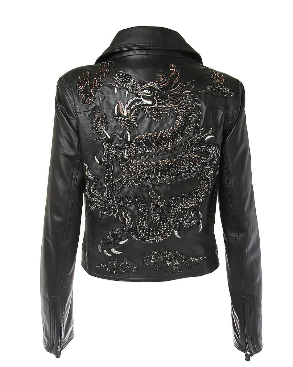Bejewelled Dragon Jacket Limited edition Black Lotus