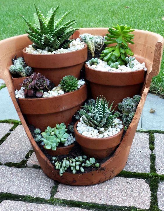 Die grüne Seite von #upcycling :-) # Gartenarbeit # Sukkulenten #Pflanzen # Gar... - #die #gar #gartenarbeit #grune #pflanzen #seite #sukkulenten #upcycling #von