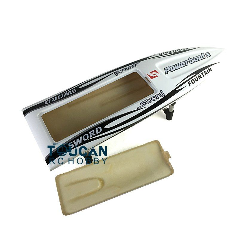 E36 Prepainted Electric Racing KIT RC Boat Hull Model Only for Advanced Player