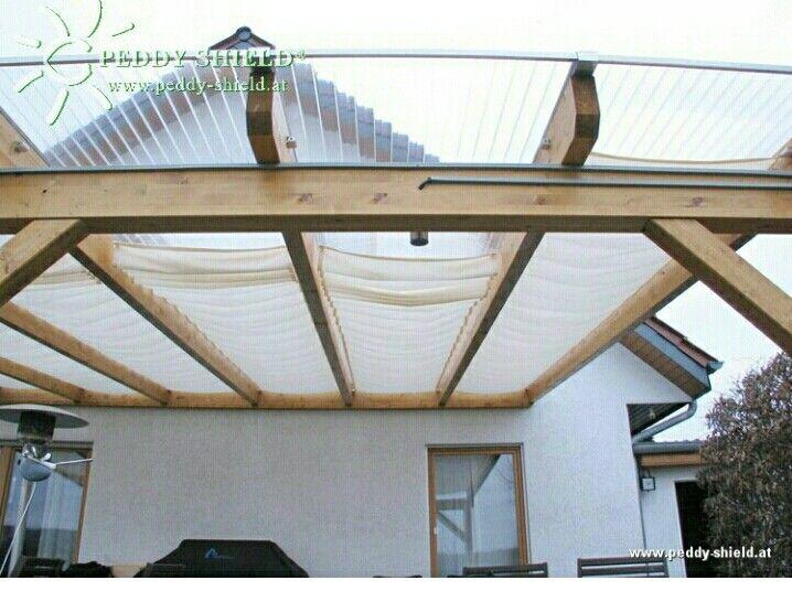 Mit Doppelstegplatten Gerades Vordach Vorm Giebel Pinterest