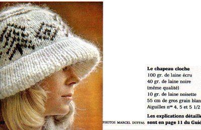 Le chapeau-cloche du numéro 1