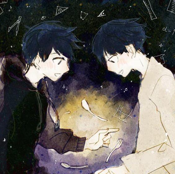 Ritsu and Mob