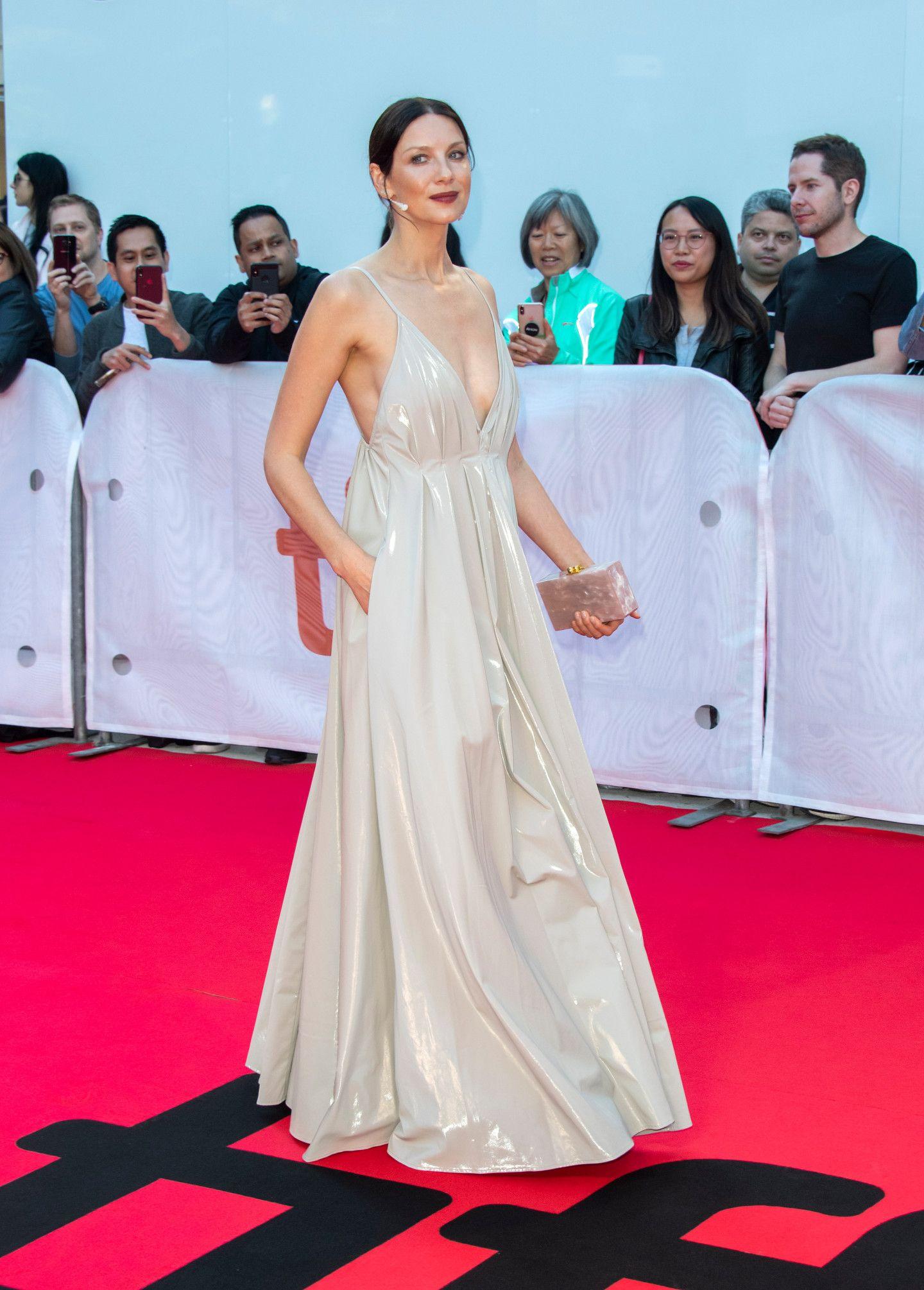 Caitriona Balfe At Outlander Season 2 Premiere In NYC