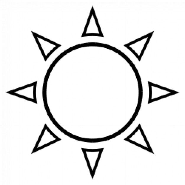 Clear Summer Sun Sunset Icon Download On Iconfinder Icon Weather Icons Insta Icon