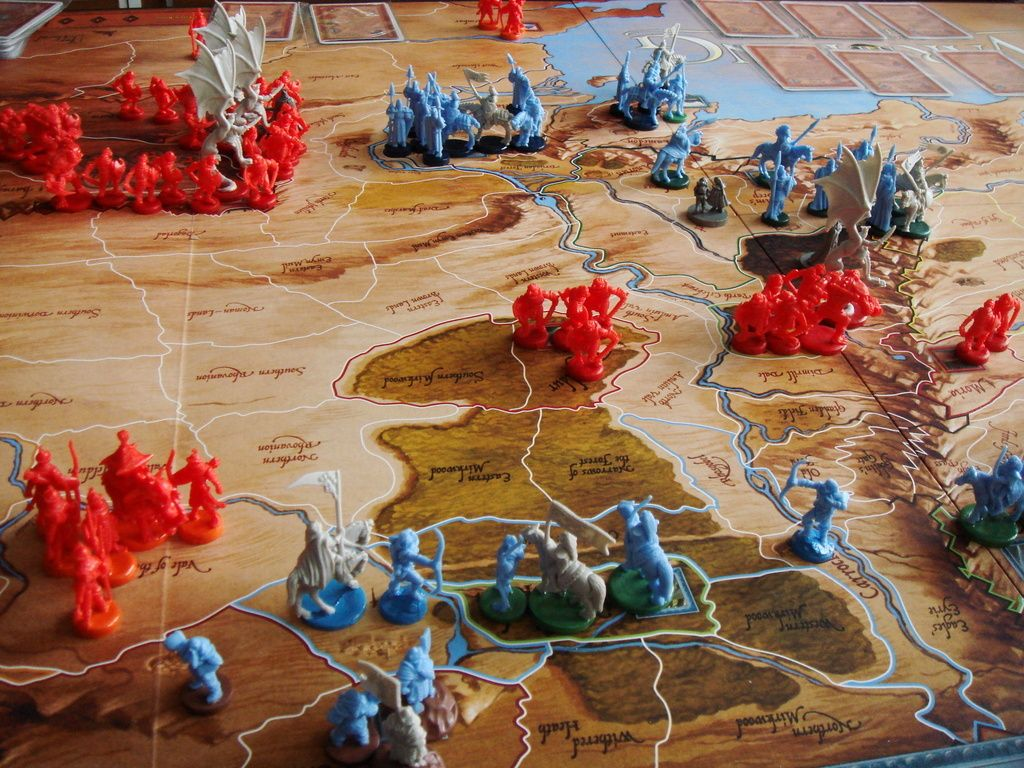War of the Ring War, Board games
