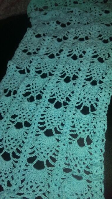 Sjaal In Ananassteek Crochet Haken Amigurumi Pinterest