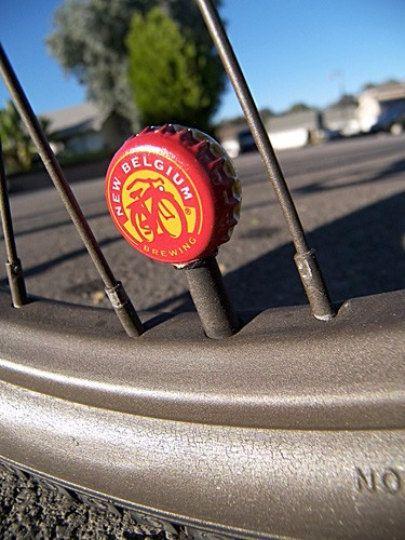 Beer Bottle Cap Bicycle Tire Valve Caps Custom Bicycle Beer
