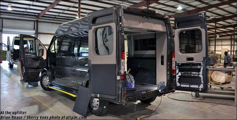 Sherry Luxury Vans Based On The Ram Promaster Luxury Van Ram Promaster Vans