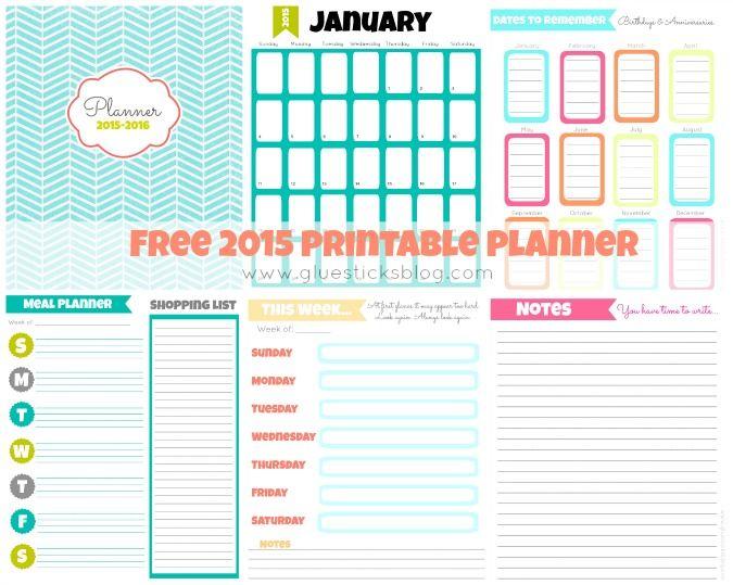 printable 2015 weekly calendar
