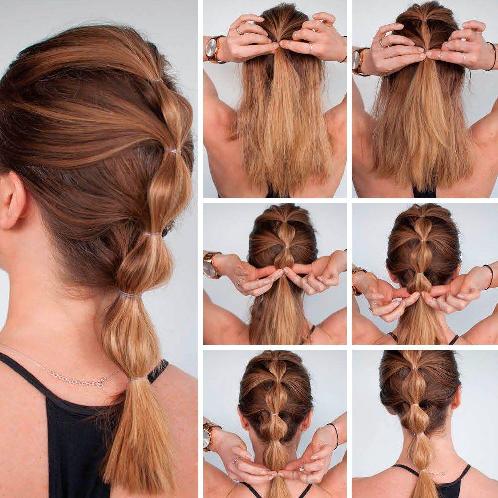 Easy Hairstyle Ideas Waitress Hairstyles Medium Hair Styles Hair Styles