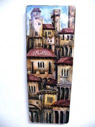Keramik Wandplatte CARLO MORELLI 1974