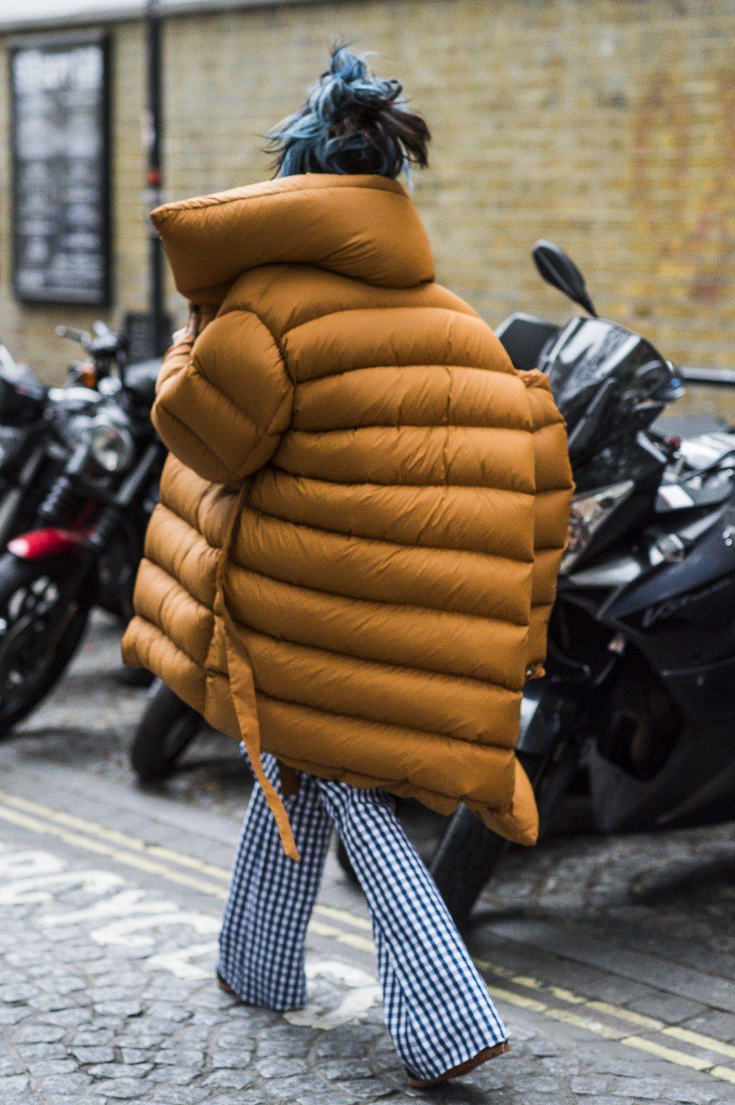 Puffer Coat Jacket Style