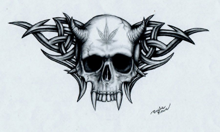 gallery for gt skull designs things to draw