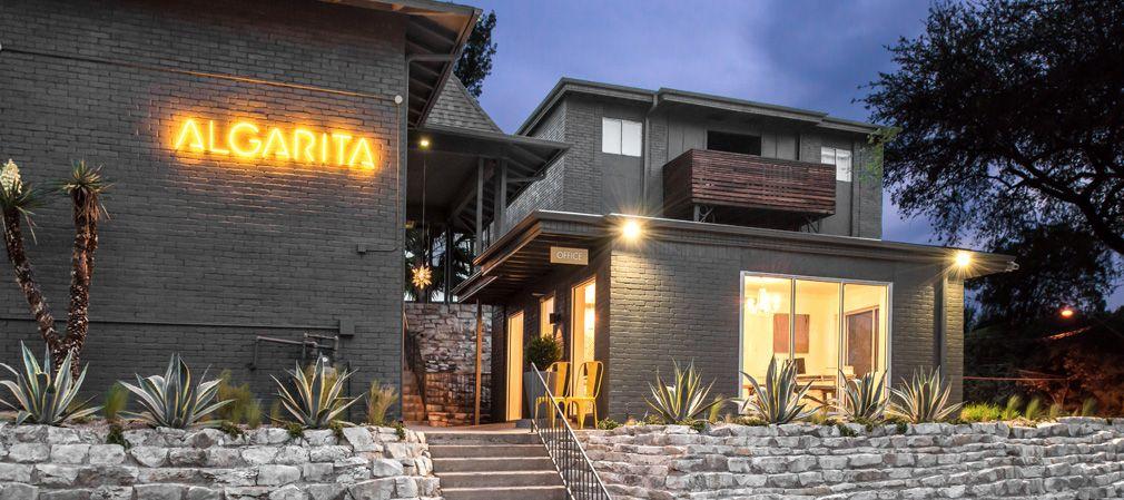 Algarita features a diverse mix of studios, one bedroom