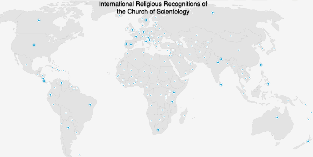 Just Launched Interactive Map Of International Religious - World religion interactive map