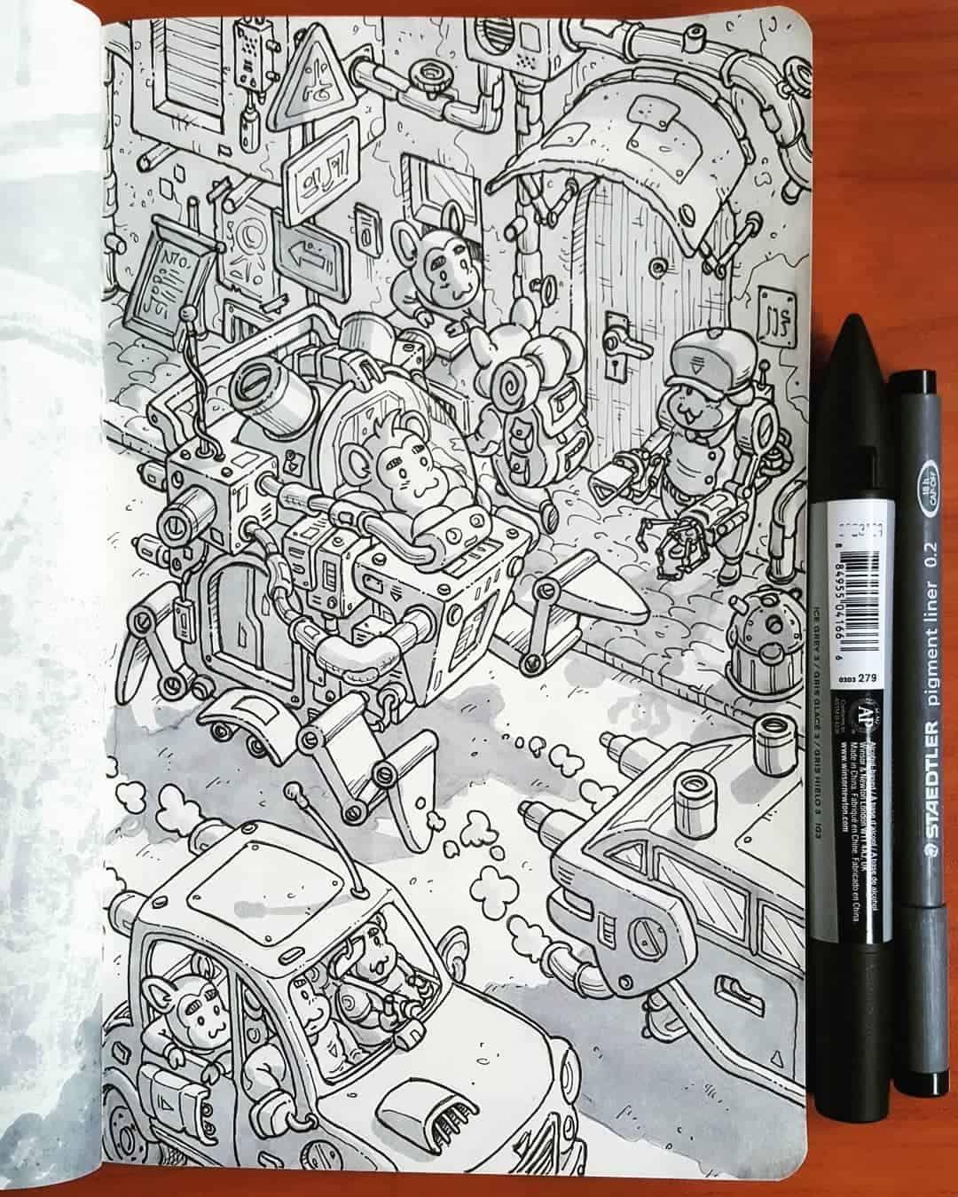 Illustrator Daniele Turturici