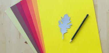 Fensterbilder basteln – 64 DIY Ideen für stimmungsvolle Herbstdekoration