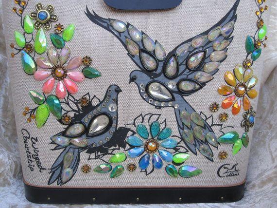 Enid Collins ~ Winged Courtship bag