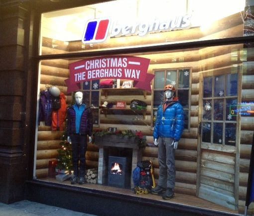 timeless design 5df0e 24574 Berghaus Log Cabin Window Display 032 Design Ltd, Leic UK ...