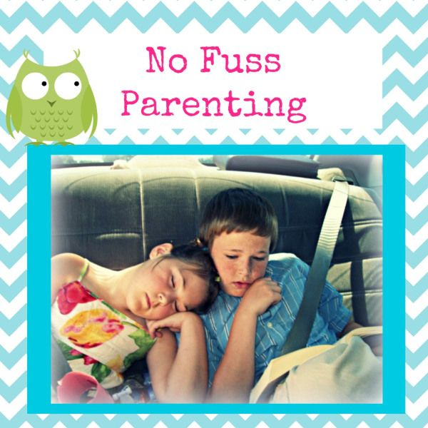 No fuss parenting. Some interesting & useful ideas