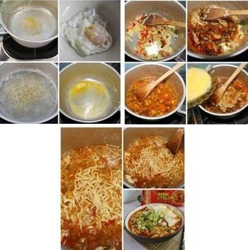 Cara Membuat Mie Ramen Food Food Receipes Food And Drink