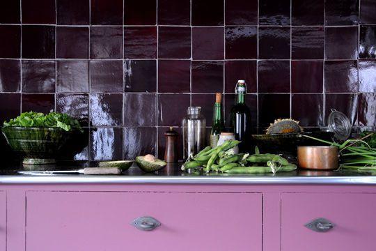 Carrelage cuisine, peinture cuisine  19 revêtements qui aiment la - Peinture Pour Carrelage De Cuisine