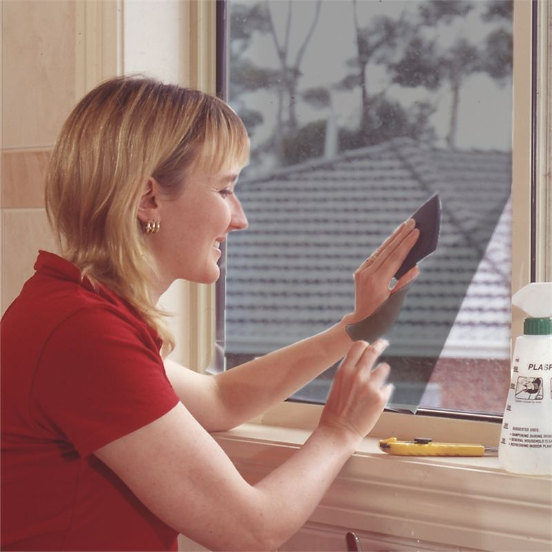 Window Film Cling On 900mm 2m Grey Tinted C301 I N 3961546 Bunnings Warehouse Window Film Sunroom Windows Garage Door Windows