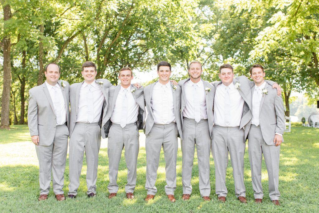 2018 best of weddings engagements groomsmen grey grey