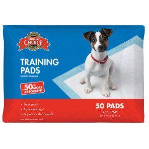 Grreat Choice Puppy Training Pads Potty Training Petsmart