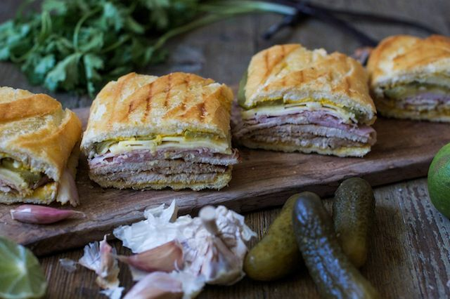 bocata CUBANO de la peli Chef. El Sandwich de el jefe