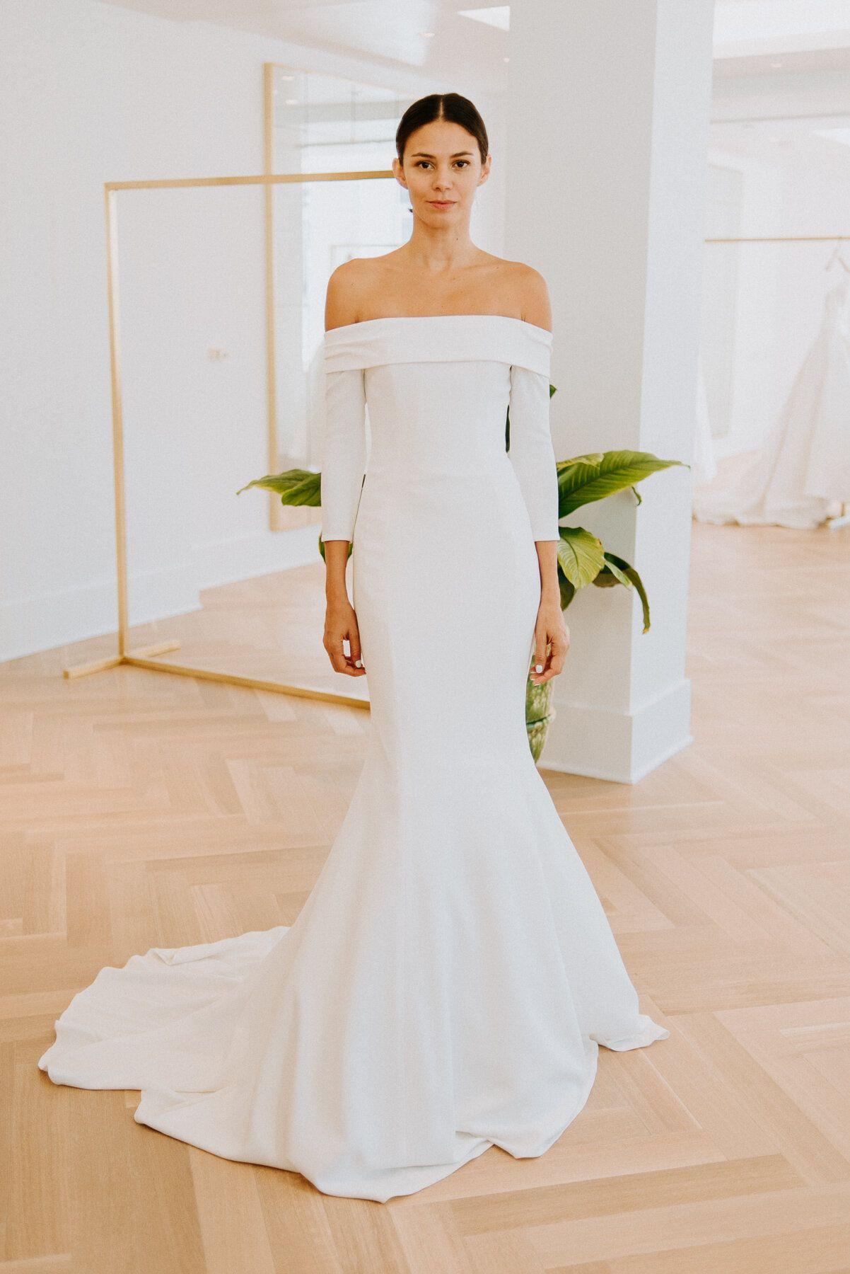 Carolina Herrera Fall 2020 Collection Preview White