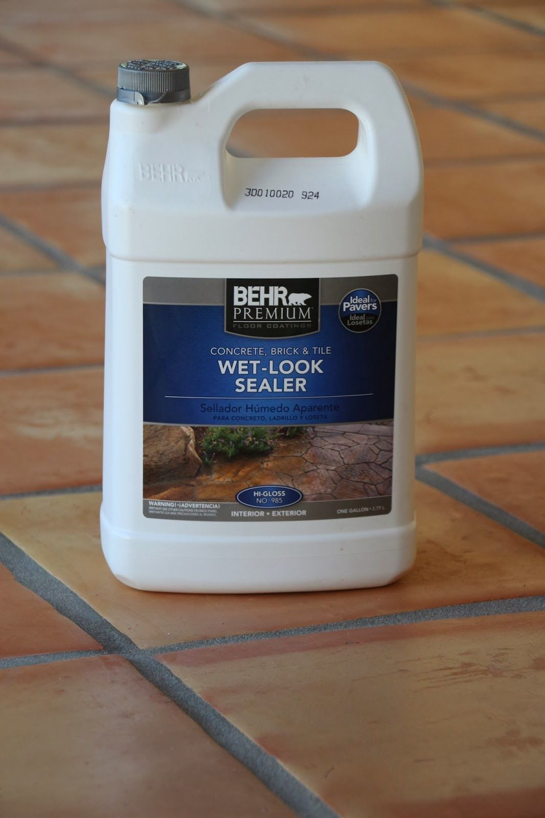 Sealing saltillo tile tutorials pinterest house kitchens i also have a tutorial on how to strip seal saltillo tiles here the tile is finished and was cleaned with vinegar to remove so doublecrazyfo Gallery