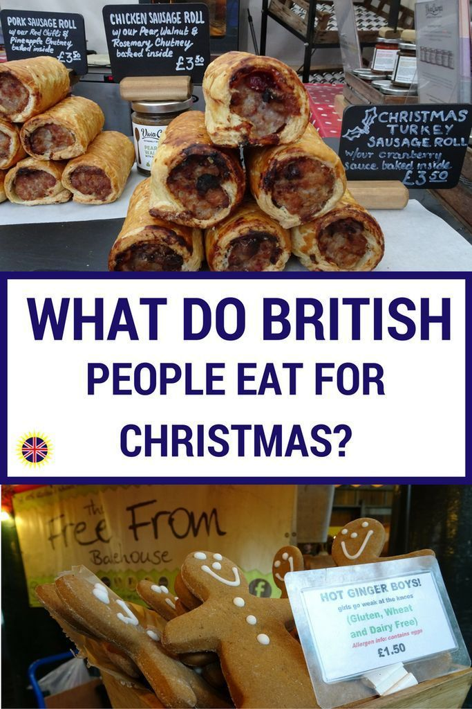What British People Eat For Christmas