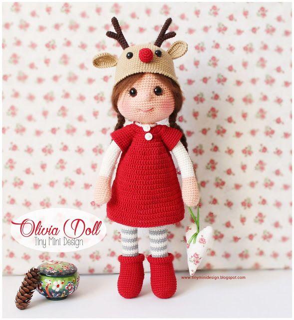 Sheep Amigurumi Crochet Pattern : awesome Amigurumi Olivia Doll Knitting and Crochet ...