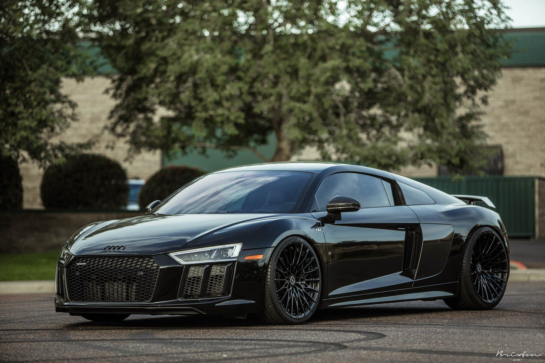 Stealthy Takes Over Black Audi R8 With Custom Parts Dope Black