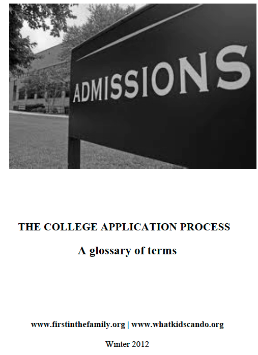 Pin By Robin King On Unspoken Culture  Pinterest  College College  Glossary Of Terms The College Application Process  Httpwwwfirstinthefamily Business Essays also Sample Of An Essay Paper  Health Awareness Essay